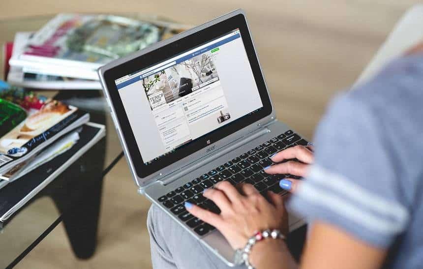 Resultado de imagem para Facebook testa novo visual; confira as mudanças