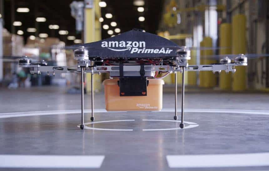 Amazon registra sistema antifurto para drones de entrega; entenda