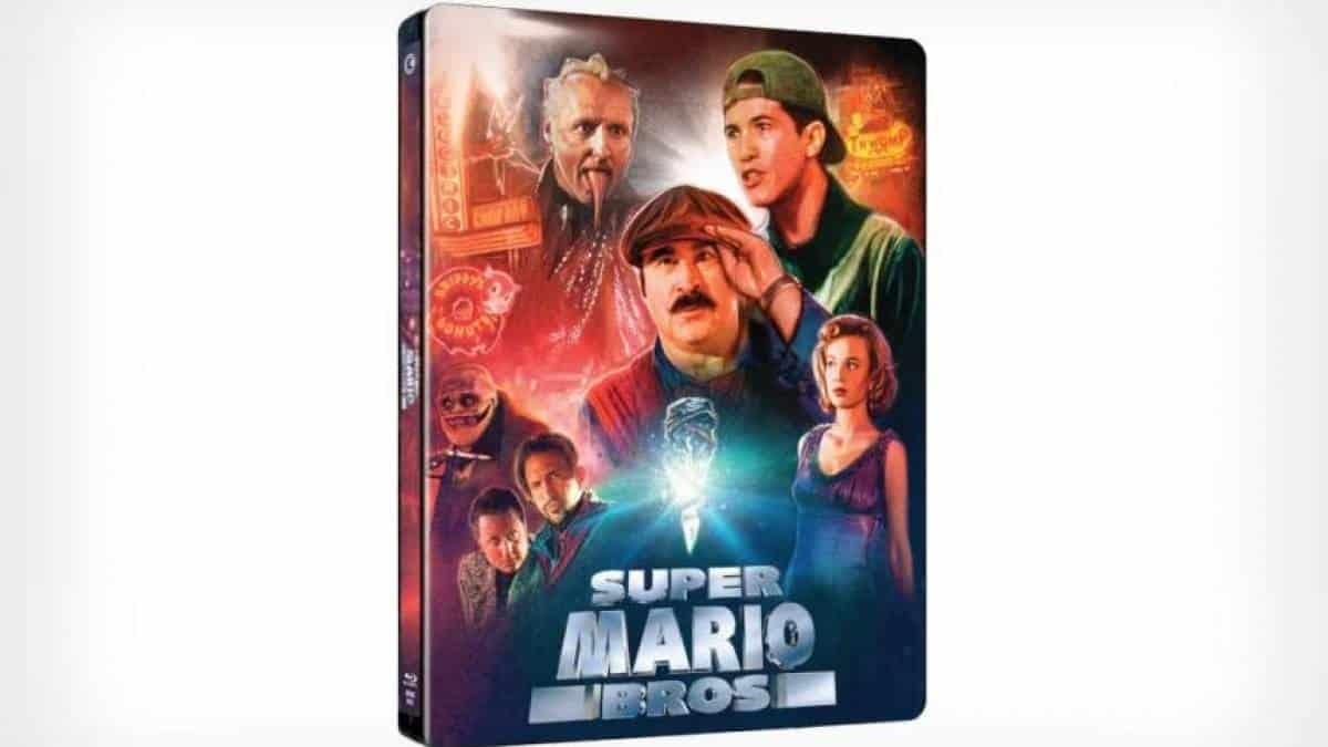 Super Mario Bros filme Blu-ray