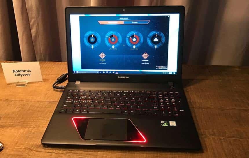 Nova linha de laptops da Samsung inclui notebook para games e Chromebooks