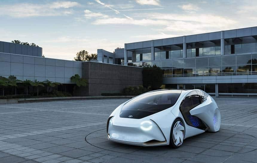 Toyota mostra seu conceito de 'carro do futuro'