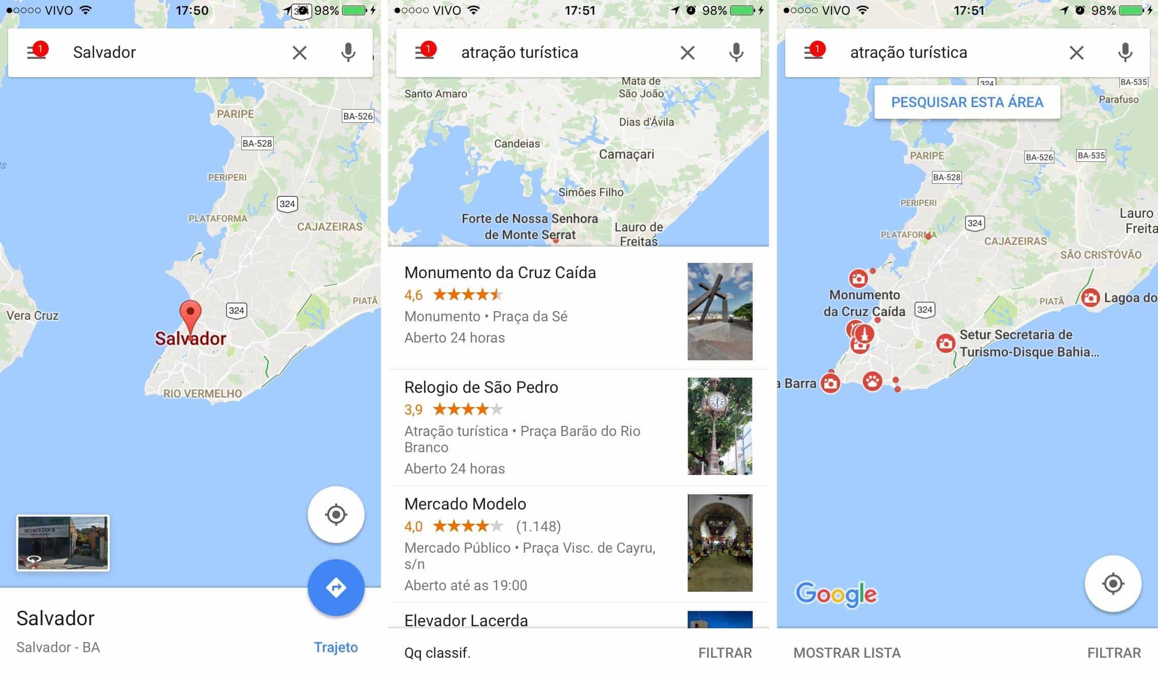 Veja como encontrar pontos tursticos no google maps agora vo aparecer pontos vermelhos no mapa com o smbolo de uma cmera fotogrfica ou de um monumento essas so as atraes tursticas que tm por l reheart Images