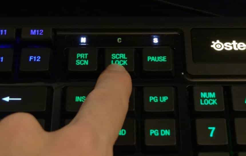 Para que serve a tecla Scroll Lock do teclado?
