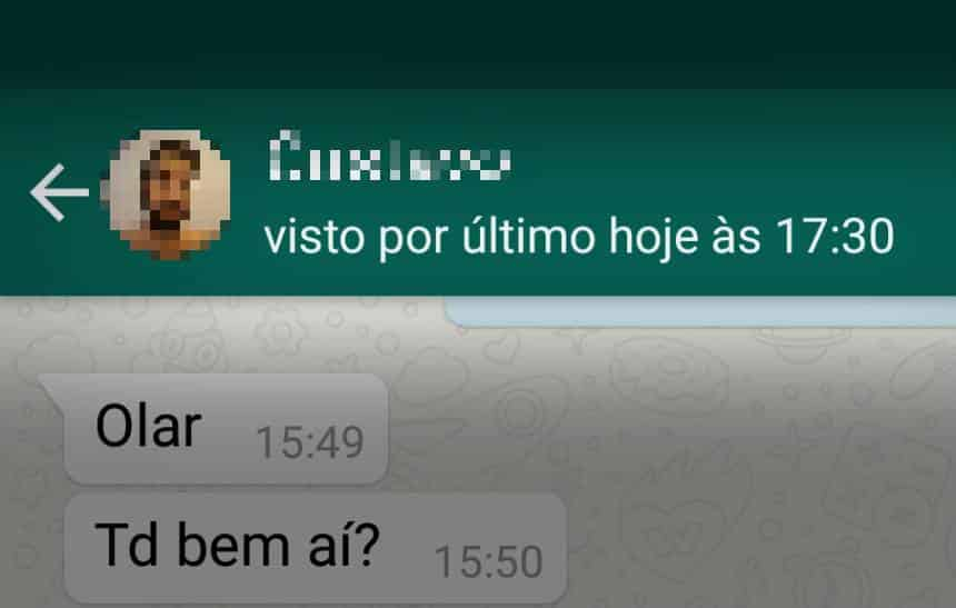 Como esconder o 'Visto por último' no WhatsApp