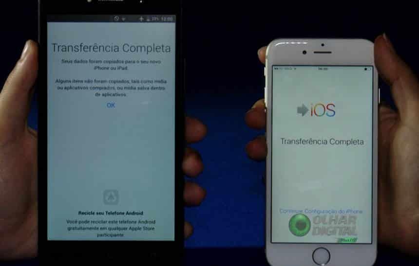 Vai trocar de celular  Veja como migrar do Android para o iOS 84c82aa572