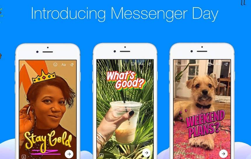 Messenger Day será unificado ao Facebook Stories