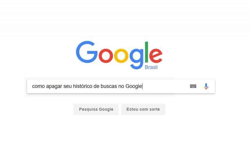 Aprenda a deletar o seu histórico de buscas do Google