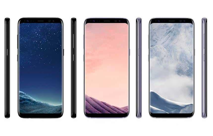Vazaram mais imagens e os preços de Galaxy S8 e S8+