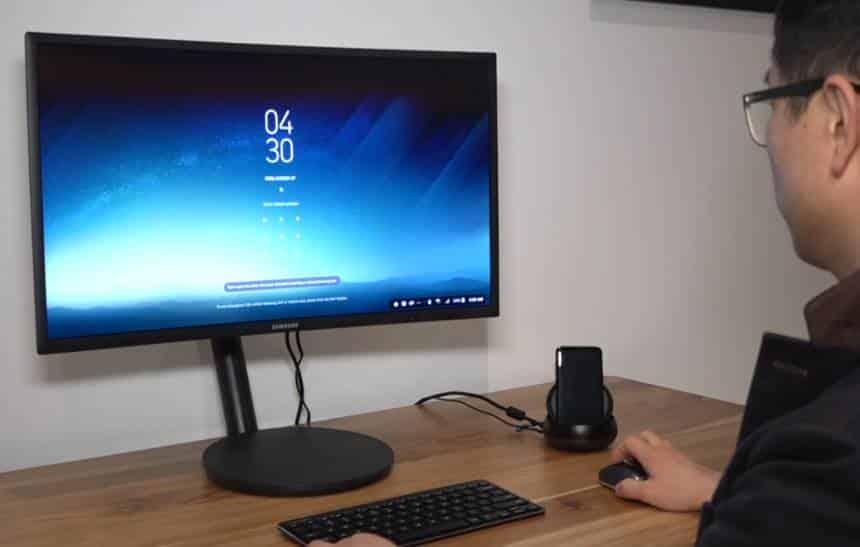 Novo dispositivo da Samsung transforma o Galaxy S8 em um computador