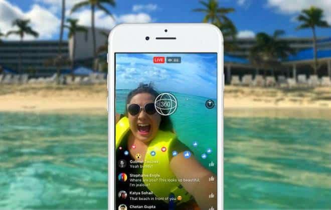 Facebook libera vídeos ao vivo em 360° a todos os usuários