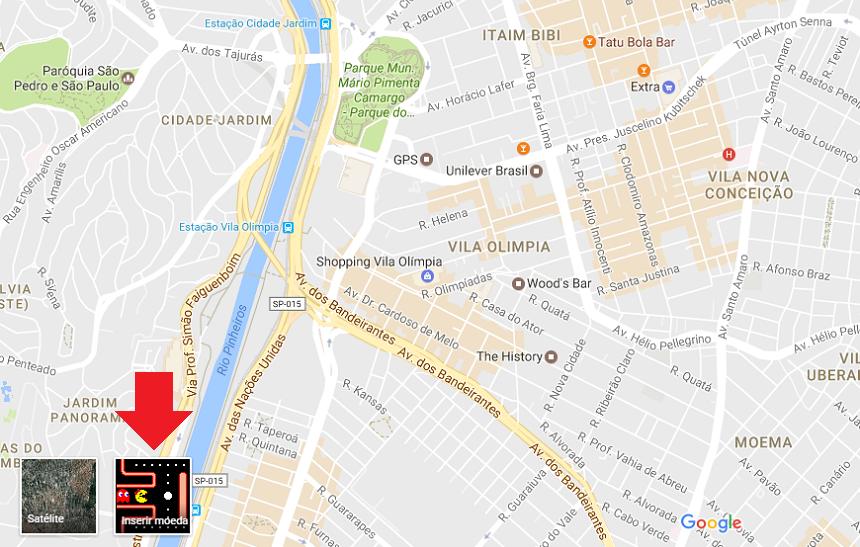 Google inclui jogo da sra pac man no maps veja como jogar reproduo reheart Images
