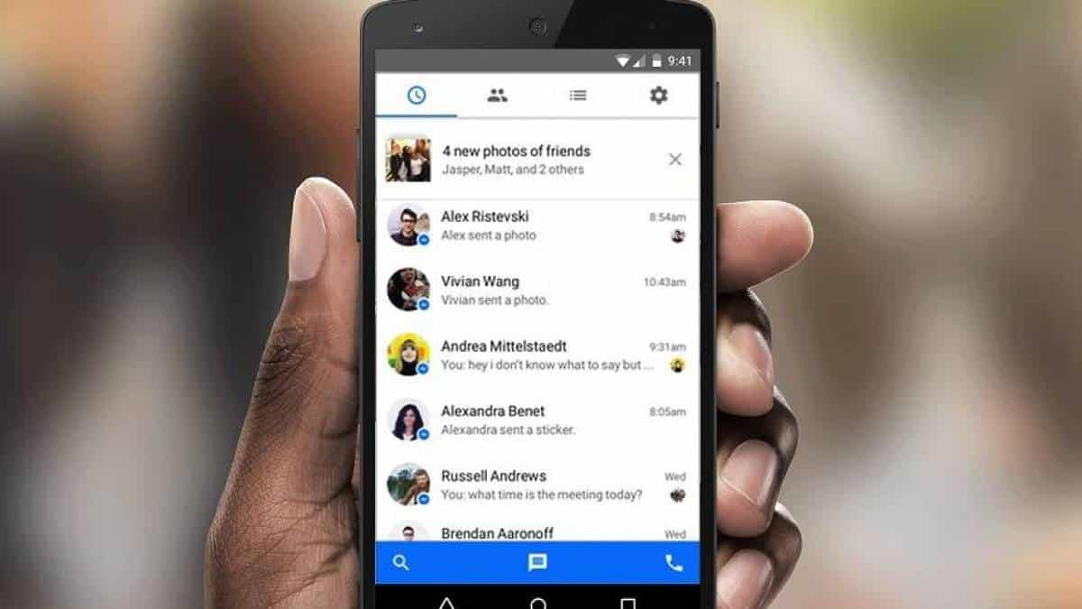 Messenger no Android