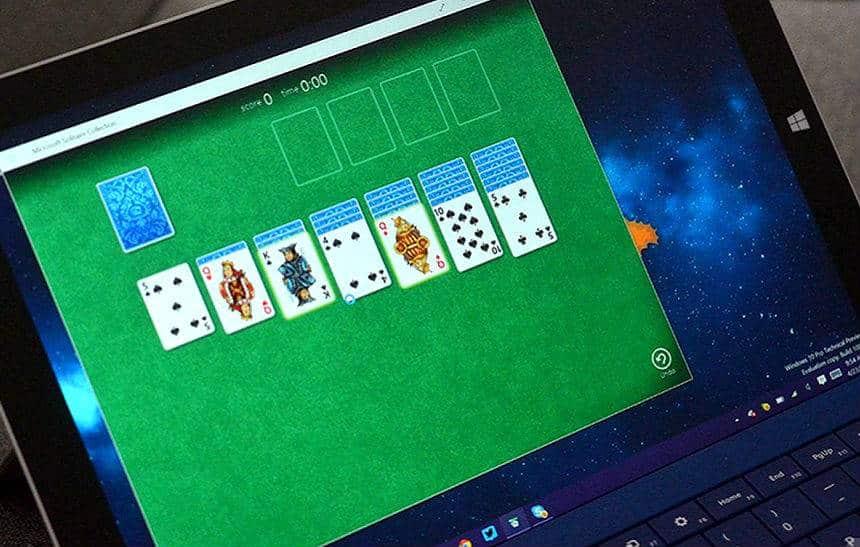 O jogo 'Paciência' do Windows foi criado por um estagiário para sair do tédio