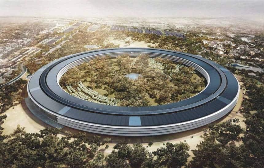 Funcionários da Apple não estão felizes com nova sede da empresa
