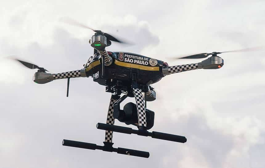 São Paulo ganha 'Dronepol', com vigilância e monitoramento por drones