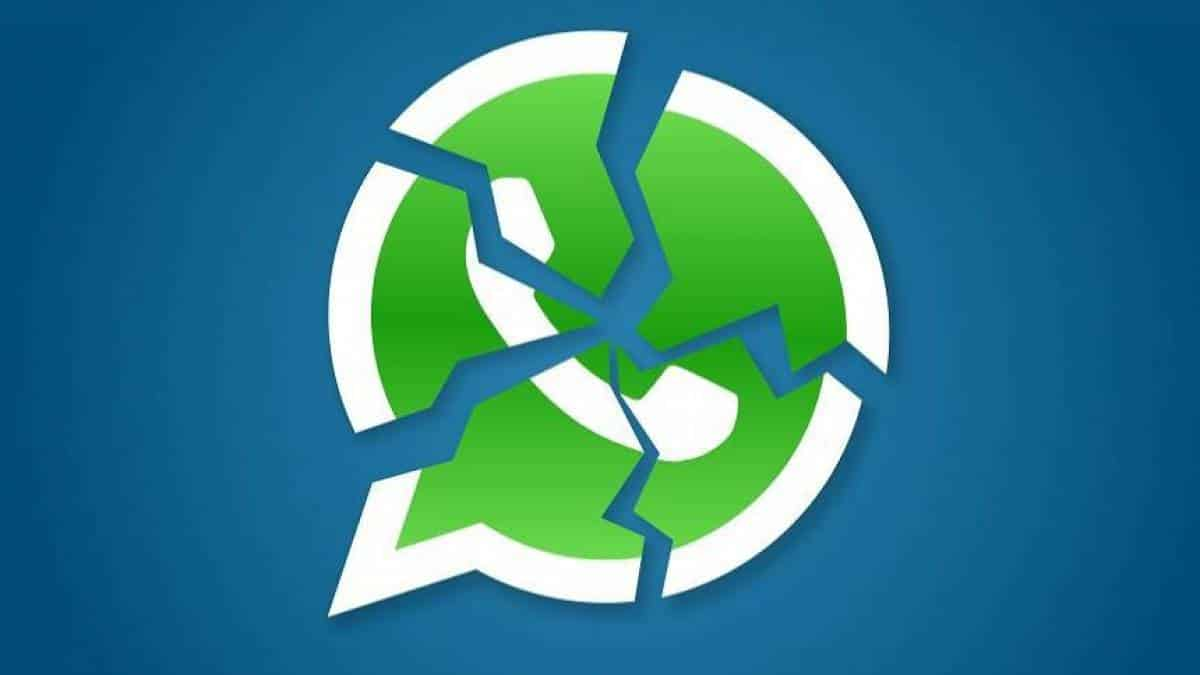 WhatsApp quebrado golpe