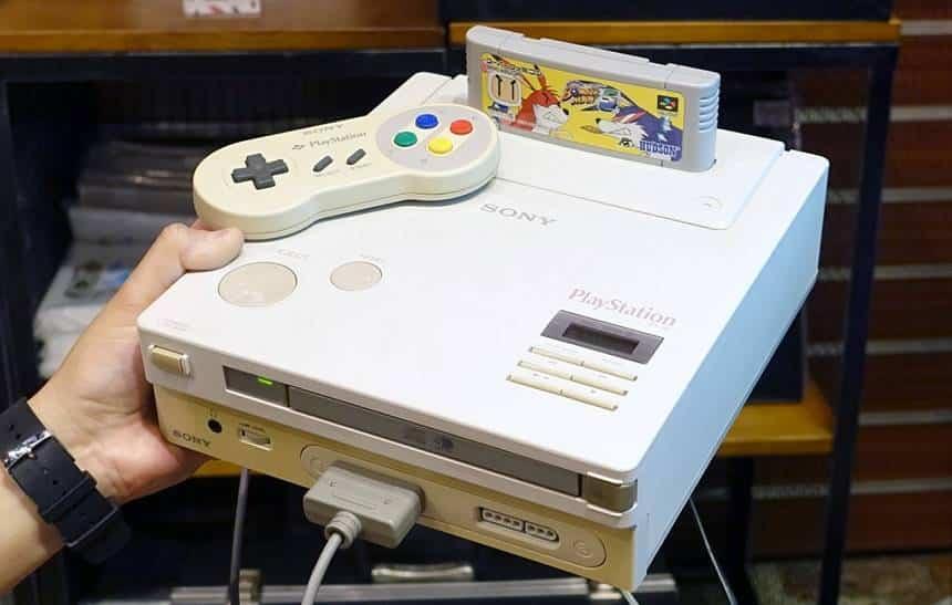 Finalmente conseguiram fazer o lendário PlayStation da Nintendo funcionar