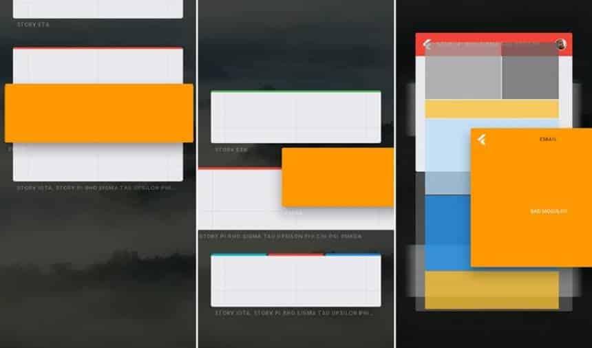 Imagens do Google Fuchsia