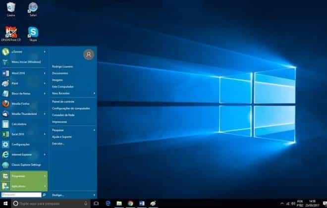 Como Instalar O Menu Iniciar Do Windows 7 No Windows 10