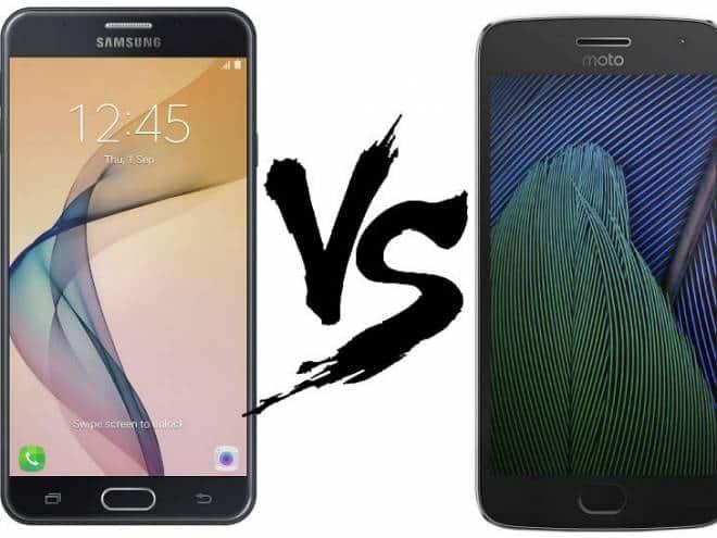 05069446d Moto G5 Plus ou Galaxy J7 Prime  veja o comparativo