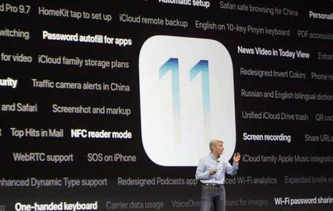 Apple apresenta novidades do iOS 11