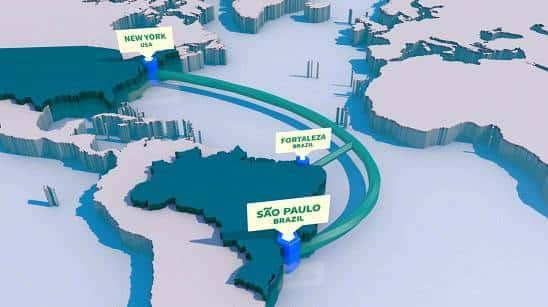 Resultado de imagem para Google inaugura cabo submarino de internet no Brasil e promete mais dois