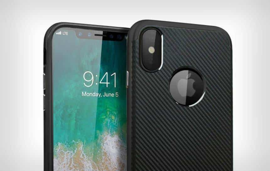 Fabricantes de capinhas para celular entregam o provável design do iPhone 8