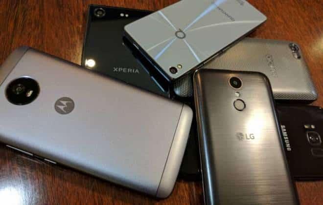 Os 10 smartphones mais potentes do mundo em julho