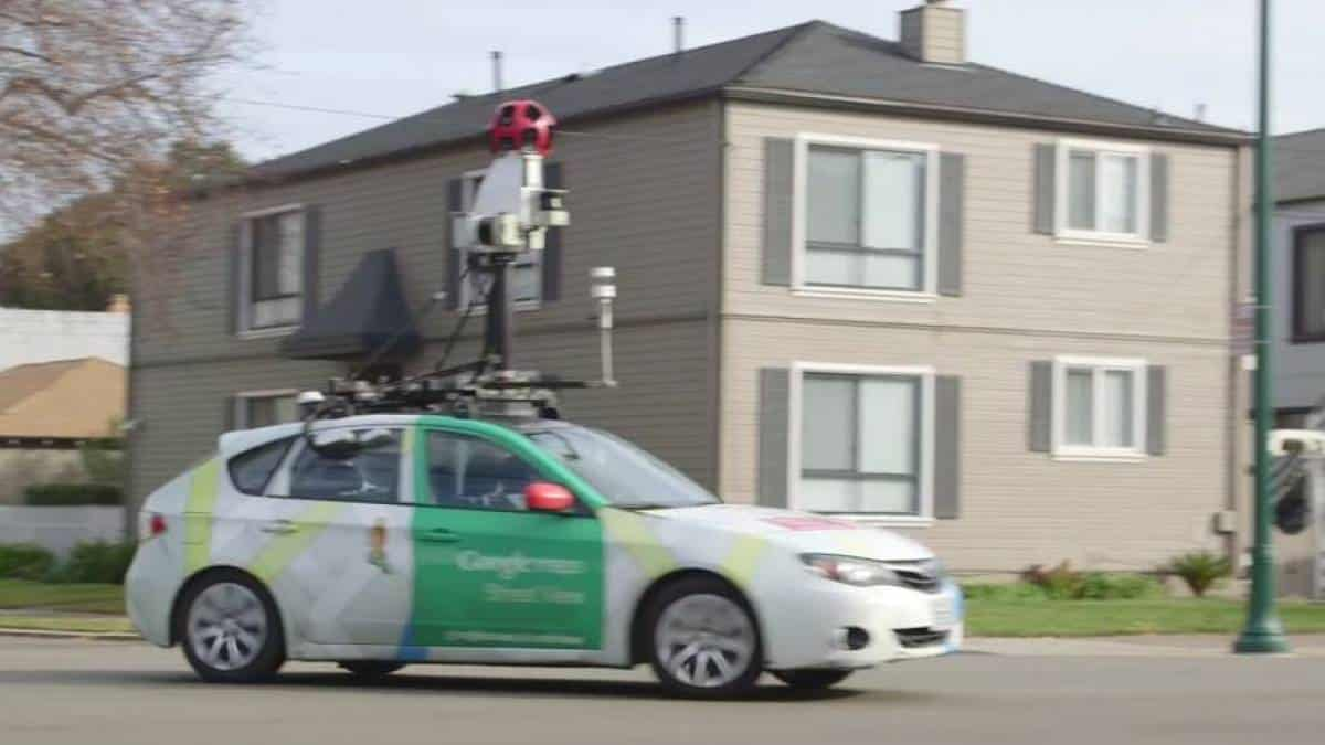 Carro do Google Street View modificado para monitorar poluição