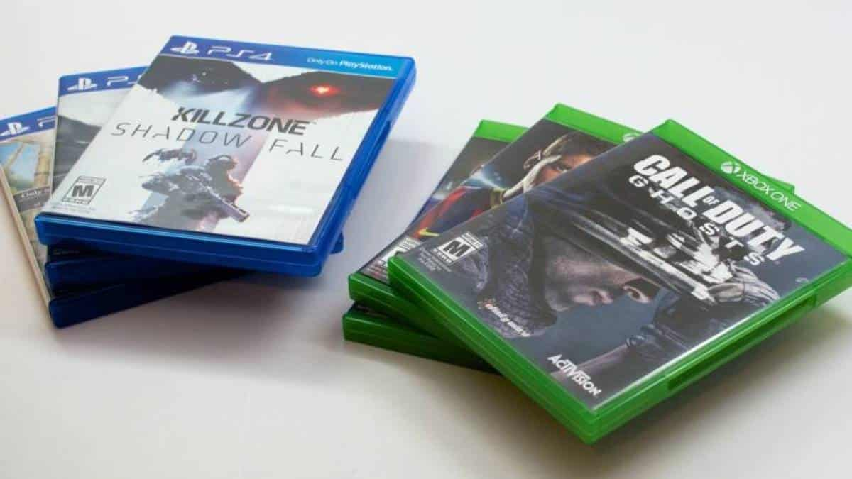 Xbox One PS4 games