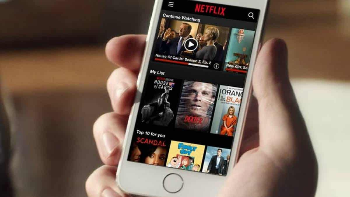 Netflix iPhone iOS