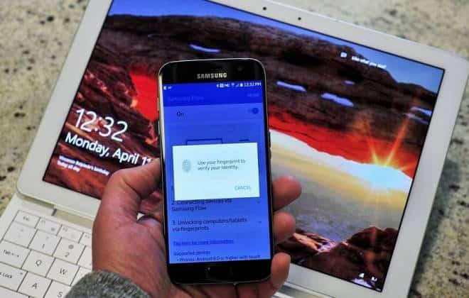 Já é possível usar o leitor de digitais do seu Galaxy para desbloquear seu PC