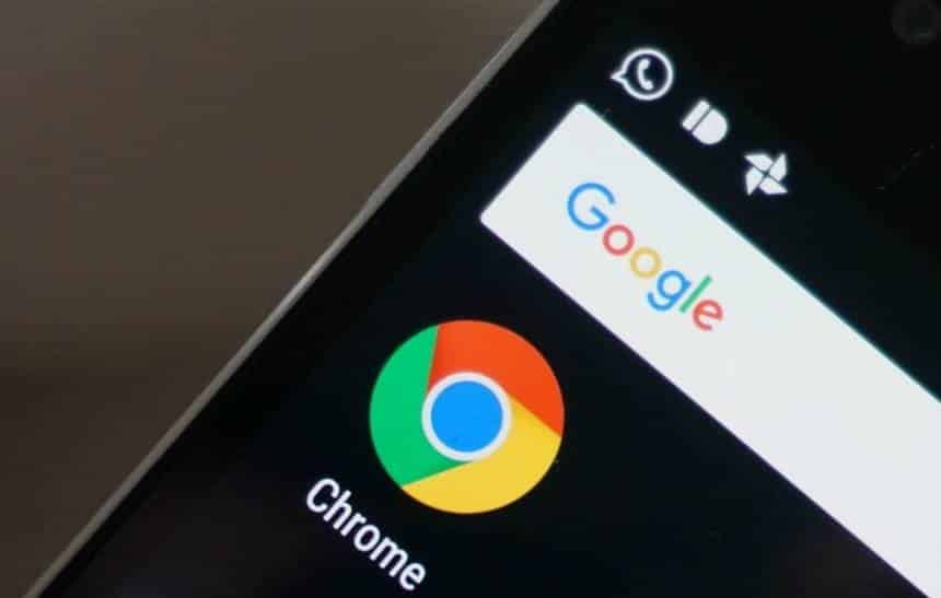 Google faz mudança no Chrome inspirada no Android P