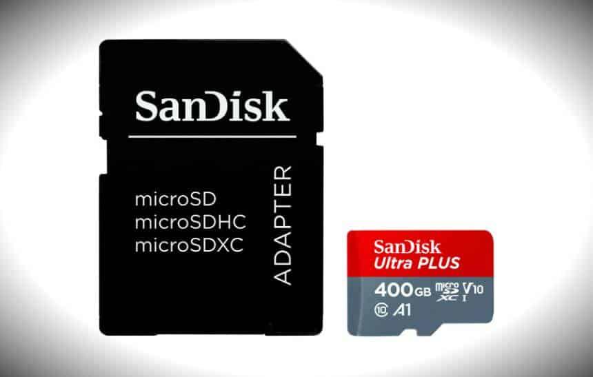 SanDisk lança maior cartão microSD do mercado