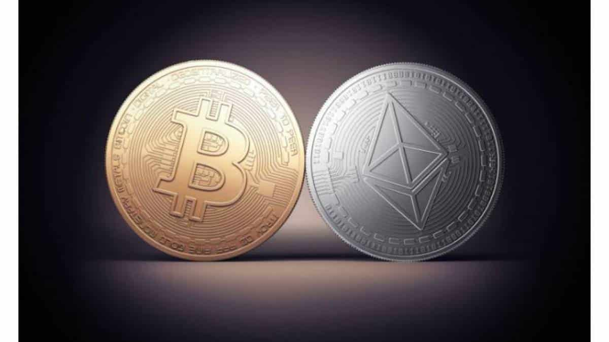 Bitcoin, Ethereum, moeda virtual
