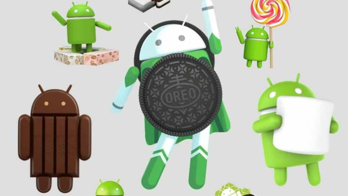 Android nomes