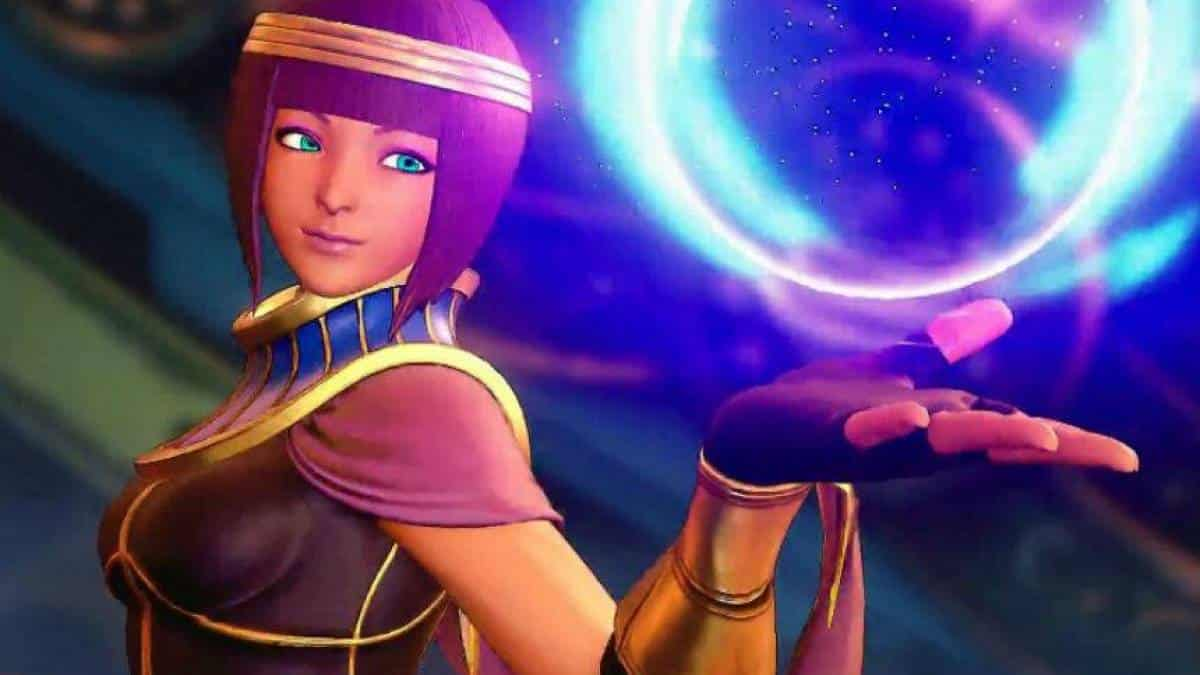 Street Fighter V Menat