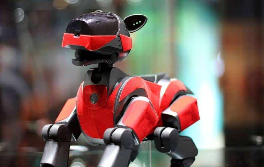 Sony quer relançar cachorro robô com inteligência artificial