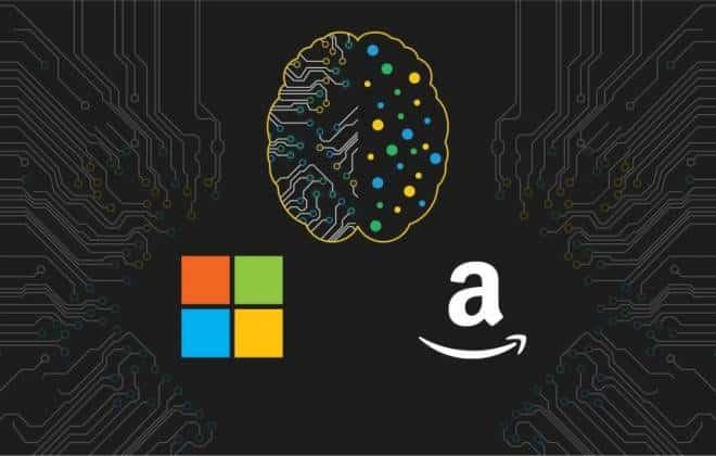 Microsoft e Amazon se unem para facilitar criação de inteligência artificial