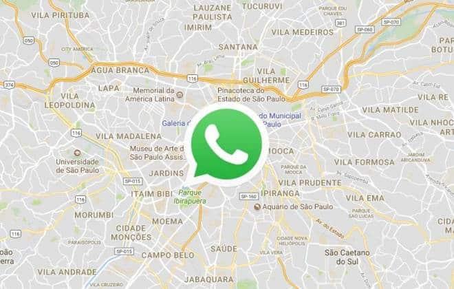 Como parar de compartilhar sua localização no WhatsApp