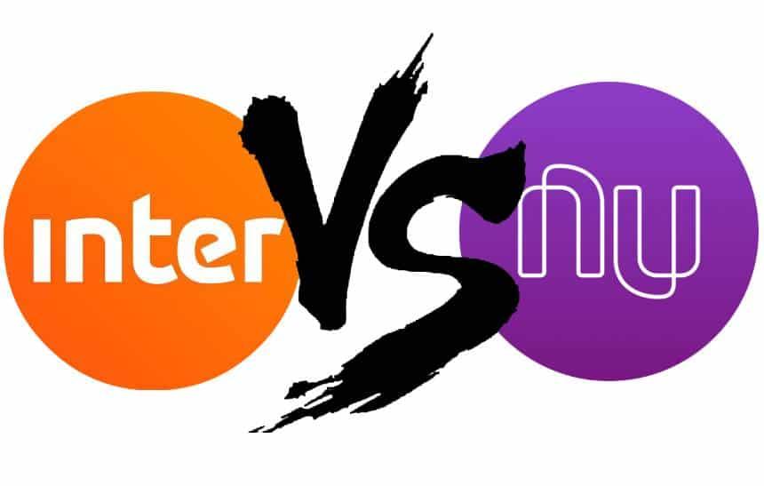 Nubank ou Inter: qual é a melhor opção de conta corrente digital sem tarifas?