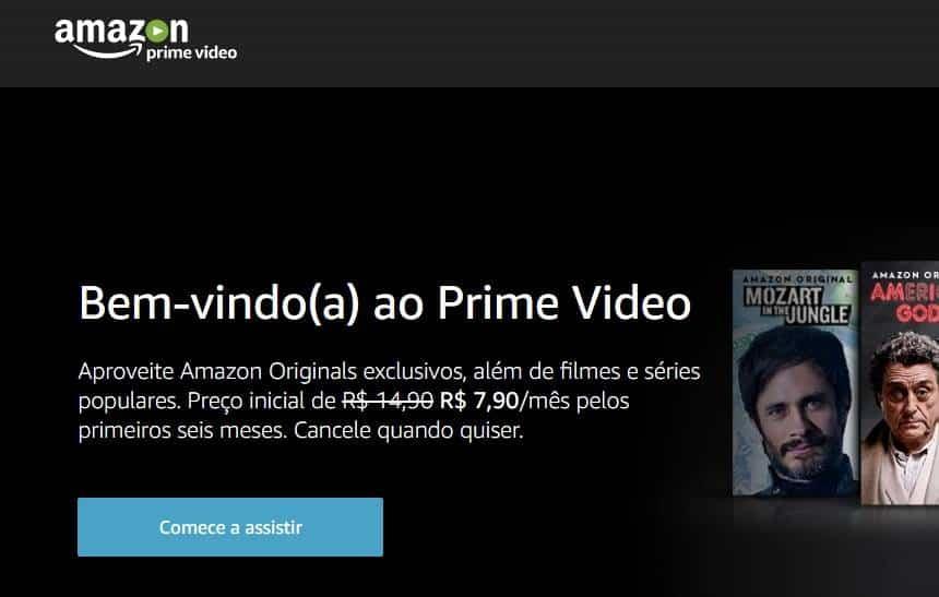 Amazon Prime Video agora cobra em real e é mais barato que Netflix