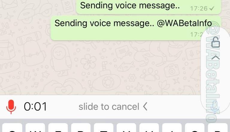 WhatsApp mudará botão para gravar áudio; saiba como funcionará