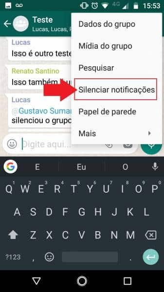 Silenciou um grupo no WhatsApp mas segue recebendo notificações? Saiba resolver androidbit