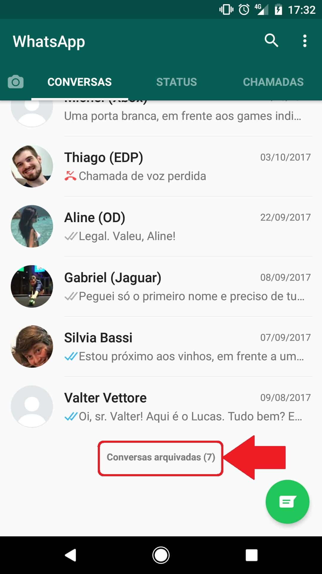 Como Esconder Uma Conversa Da Tela Inicial Do Whatsapp