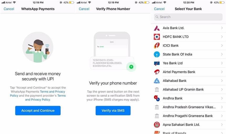 WhatsApp testa recurso de pagamento na Índia