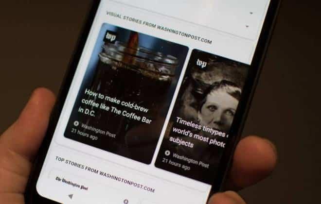 Google agora tem Stories em seu buscador; veja como acessar
