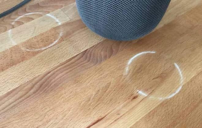 Caixa de som de US$ 350 da Apple deixa marca em superfícies de madeira