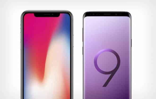 Galaxy s9 versus iphone x compare os principais smartphones do momento stopboris Gallery