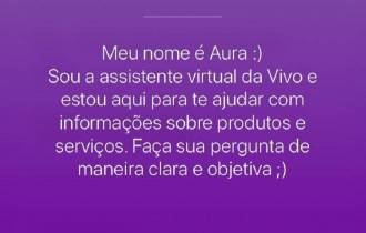 Como usar a Aura, a assistente virtual da Vivo